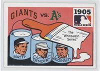 New York Giants, Philadelphia Phillies Team [Good to VG‑EX]
