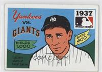 1937 - New York Yankees vs. New York Giants [GoodtoVG‑EX]