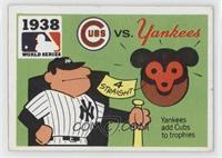 1938 - Chicago Cubs vs. New York Yankees [Poor to Fair]