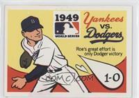 1949 - New York Yankees vs. Brooklyn Dodgers