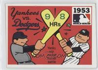 New York Yankees Team, Brooklyn Dodgers Team [Good to VG‑EX]
