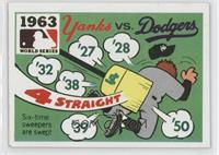 1963 World Series - Yanks vs. Dodgers
