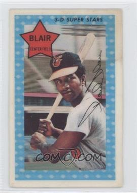 1971 Kellogg's 3-D Super Stars #35 - Paul Blair