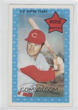1971 Kellogg's 3-D Super Stars #65 - Pete Rose