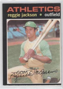 1971 O-Pee-Chee - [Base] #20 - Reggie Jackson