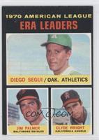 Clyde Wright, Diego Segui, Jim Palmer