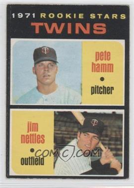 1971 O-Pee-Chee - [Base] #74 - Pete Hamm, Jim Nettles
