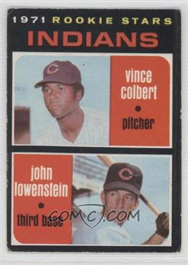 1971 O-Pee-Chee #231 - Vince Colbert, John Lowenstein [Good to VG‑EX]