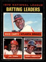 1970 National League Batting Leaders [NM]