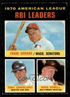 Frank Howard, Tony Conigliaro, Boog Powell [VG]