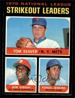 Tom Seaver, Bob Gibson, Fergie Jenkins [NM]