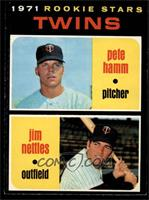 Pete Hamm, Jim Nettles [EX MT]