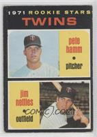 Pete Hamm, Jim Nettles [Good to VG‑EX]