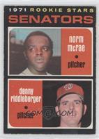 Norm McRae, Denny Riddleberger
