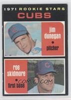 Cubs Rookie Stars (Jim Dunegan, Roe Skidmore)