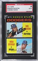 Bobby Valentine, Mike Strahler [SGC AUTHENTIC AUTO]