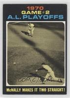 1970 Game #2 A.L. Playoffs: McNally Makes it Two Straight! [GoodtoV…