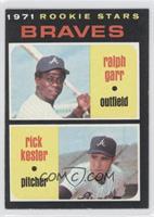 Ralph Garr, Rick Kester