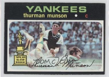 1971 Topps - [Base] #5 - Thurman Munson