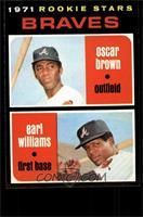 Braves Rookie Stars (Oscar Brown, Earl Williams) [NMMT]
