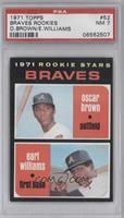 Braves Rookie Stars (Oscar Brown, Earl Williams) [PSA7]