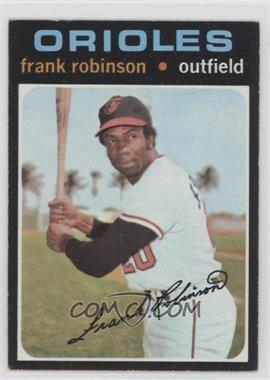 1971 Topps - [Base] #640 - Frank Robinson