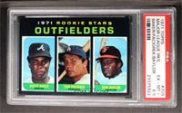 Dusty Baker, Tom Paciorek, Don Baylor [PSA 6.5]