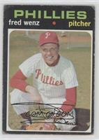 Fred Wenz [Good to VG‑EX]