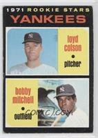Yankees Rookie Stars (Loyd Colson, Bobby Mitchell) [Good to VG‑…