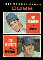 Cubs Rookie Stars (Jim Dunegan, Roe Skidmore) [NM]
