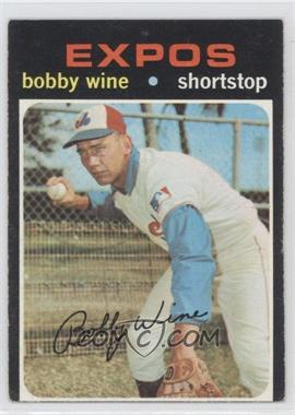 1971 Topps #171 - Bobby Wine [Good to VG‑EX]