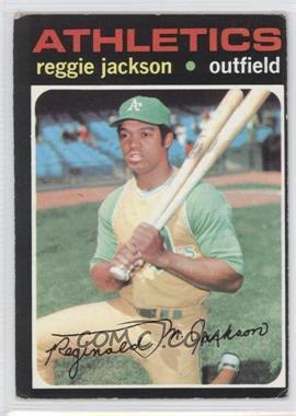 1971 Topps #20 - Reggie Jackson [GoodtoVG‑EX]