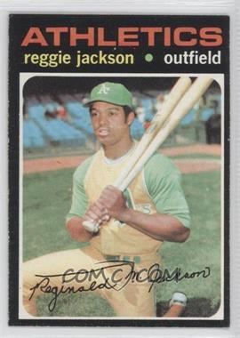 1971 Topps #20 - Reggie Jackson
