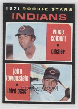 1971 Topps #231 - Rookie Stars (Vince Colbert, John Lowenstein)