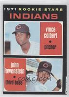 Rookie Stars (Vince Colbert, John Lowenstein)