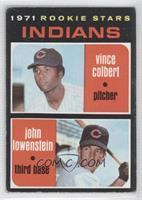 Rookie Stars (Vince Colbert, John Lowenstein) [Good to VG‑EX]