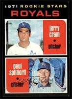 Rookie Stars (Jerry Cram, Paul Splittorff) [NM MT]