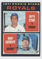 Rookie Stars (Jerry Cram, Paul Splittorff)