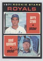Royals Rookie Stars (Jerry Cram, Paul Splittorff)