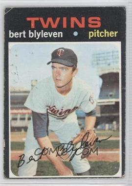 1971 Topps #26 - Bert Blyleven [Good to VG‑EX]