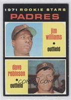 1971 Rookie Stars Padres (Jim Williams, Dave Robinson)