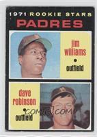 Padres Rookie Stars (Jim Williams, Dave Robinson) [GoodtoVG‑E…