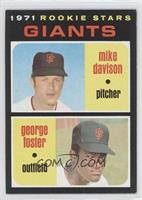 Rookie Stars Giants (Mike Davison, George Foster) [GoodtoVG‑E…