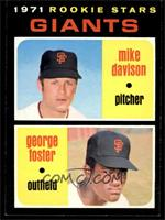 Rookie Stars Giants (Mike Davison, George Foster) [NM]