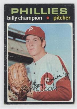 1971 Topps #323 - Bill Champion [Good to VG‑EX]