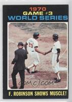 World Series Game #3: F. Robinson Shows Muscle!