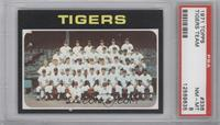 Detroit Tigers Team [PSA 8]