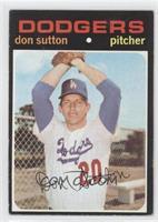 Don Sutton [GoodtoVG‑EX]