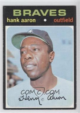1971 Topps #400 - Hank Aaron