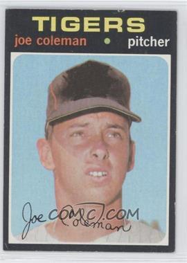 1971 Topps #403 - Joe Coleman